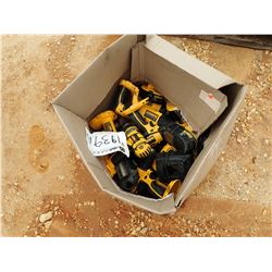 MISC DEWALT POWER TOOLS, 18 VOLTS