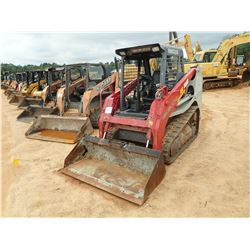 2015 TAKEUCHI TL8 SKID STEER LOADER, VIN/SN:200800543 - CRAWLER, BUCKET, CANOPY, METER READING 2,102