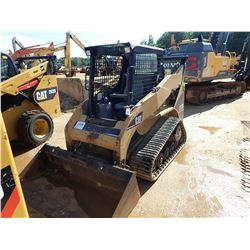 2005 CAT 257B SKID STEER LOADER, VIN/SN:SLK02903 - CRAWLER, BUCKET, CANOPY, METER READING 1,125 HOUR