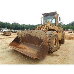CAT 980B WHEEL LOADER, VIN/SN:89P518 - BUCKET, CAB, A/C, 26.5-25 TIRES