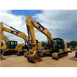 "2012 CAT 320EL Hydraulic Excavator- - 9'-6"" STICK, 42"" BUCKET, CAOUPLER, CAB, A/C, METER READING 7,3"