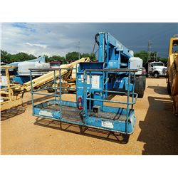 2005 GENIE Z60/34 MANLIFT- 4X4, 500 LB CAP, 60' HEIGHT, 34' REACH, METER READING 3,3374 HOURS