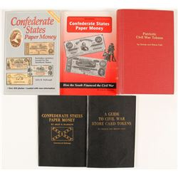 Civil War Numismatic Books (5)  (89812)