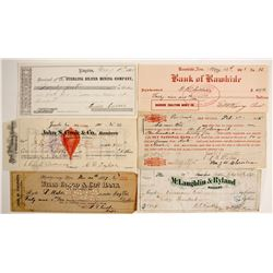 RARE and Famous Nevada Checks and Locations  (99412)