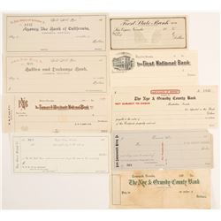 Unused Checks: Including Rare Issues, Places and J. S. Cain  (99771)