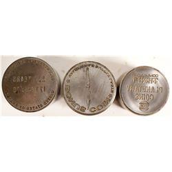 Misc. Coin-Related Token Dies (3)  (100110)