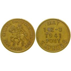 Coronado 400 Year Medal  (100335)