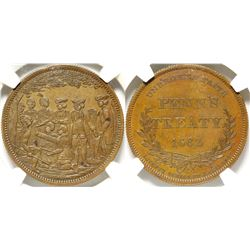 Penn's Treaty No. 1 Medal  (91151)
