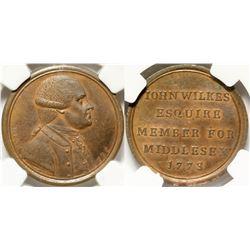 British Historical Medal: John Wilkes  (91152)