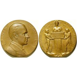 Calvin Coolidge Inauguration Medal  (91132)
