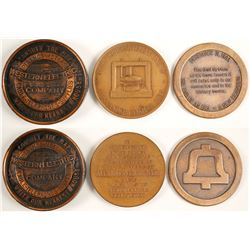 Western Electric and Telephone Medals (3)  (89835)