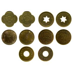 Tonopah Token Collection (5)  (31174)