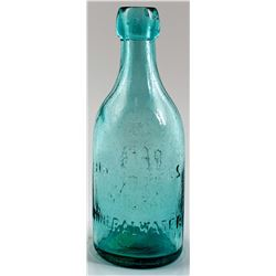HAAS BROS. NATURAL MINERAL WATER BOTTLE  (30162)