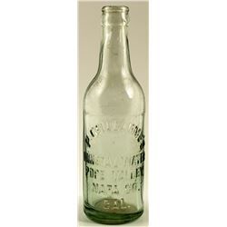 Soda Bottle / P. Guillaume's Mineral Water.  (29848)