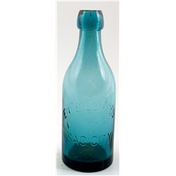 E. L. BILLING'S SODA BOTTLE  (30477)