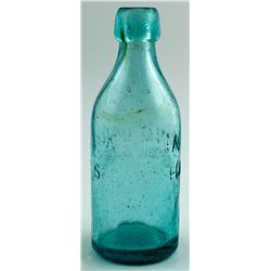 AETNA SODA WATER BOTTLE  (29062)