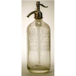 Seltzer Bottle / Coca- Cola Bottling Co .   (89501)