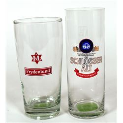 Beer Glass / German / 2 Items  (89562)