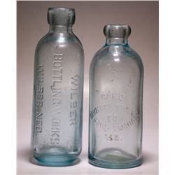 Wilber Bottling Works/ Curo Imperial  Spring Co. ( 2 Items ) )  (76020)