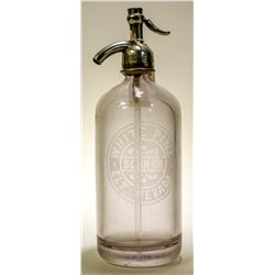 Seltzer Bottle / White Pine Soda Co.   (89502)