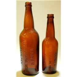 Rainier / Beer Bottling Works . / 2 items.  (78860)