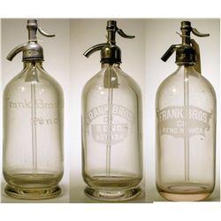 Seltzer Bottle Trio / 3 Items  (78875)