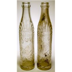 Soda Bottles / Silver State / 2 Items  (89542)