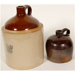 Whiskey Jugs  / 2 Items  (78865)