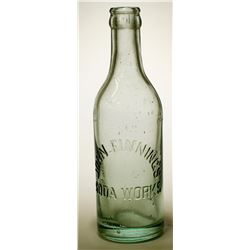 Soda Bottle / John Finning's Soda Works.   (89547)
