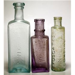 Three Medicine Bottles  (61433)