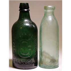 Congress & Empire Springs & BayCity Soda Water  Co. ( 2 Items )  (77429)