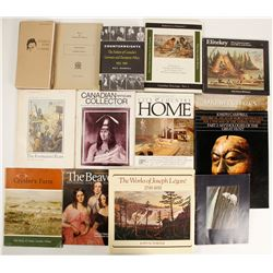 Canadian Art History Books (14)  (89102)