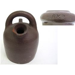 Brown Clay GKP Jug  (86878)