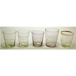 Whiskey Shot Glasses / 5 items  (78868)