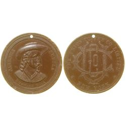 Buffalo Bill Advertising Coffee Medal  (100321)