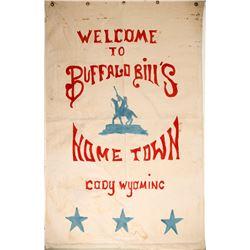 Buffalo Bill Irma Hotel Banner  (88571)