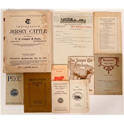 Cattle and Ranching Booklets  (88561)