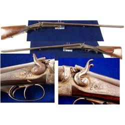 16 Gauge K. Schefer Zurich Side X Side shotgun  (42752)