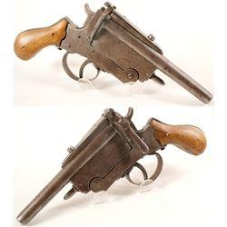 Belgian 1880s Pistol  (75707)