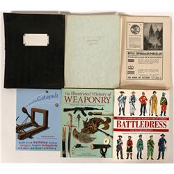 Collectible Artifacts History Books (6)  (100046)