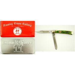 Kissing Crane Vietnam Veteran Trapper knife  (75621)