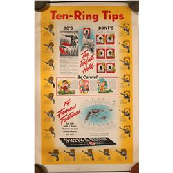 Smith and Wesson Ten Tips Poster  (89149)