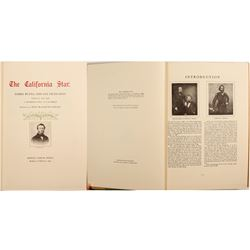 """""""The California Star; Reprint of First Year Newspaper in 1847  (89919)"""