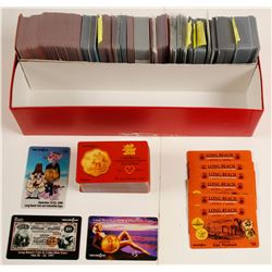 Collectible Phone Cards, Long Beach, CA (300)  (73025)