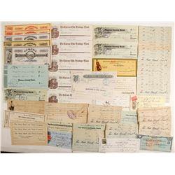 Good Assortment of Checks  (89864)