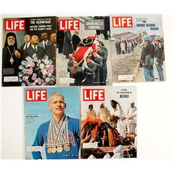 Historical Life Magazines (5)  (91289)