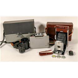 Polaroid 95A and 320 plus Canon Lens  (100001)
