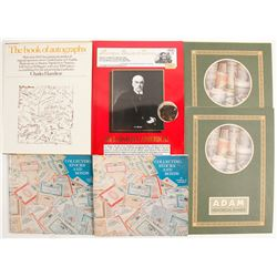 Stock, Bond, and Autograph References (6)  (89174)