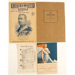 Vintage Art and Other Booklets (4)  (91282)