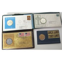 Silver and Bronze Commemorative Medals  (85545)